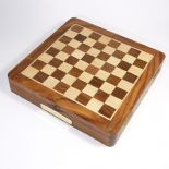 Chess Set,  Personalised,  Top Opening 10 inch Square ref TOCS